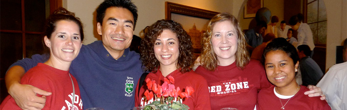 Photo of three alumni from Stanford GSE Reunion 2009