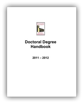 Doctoral Handbook