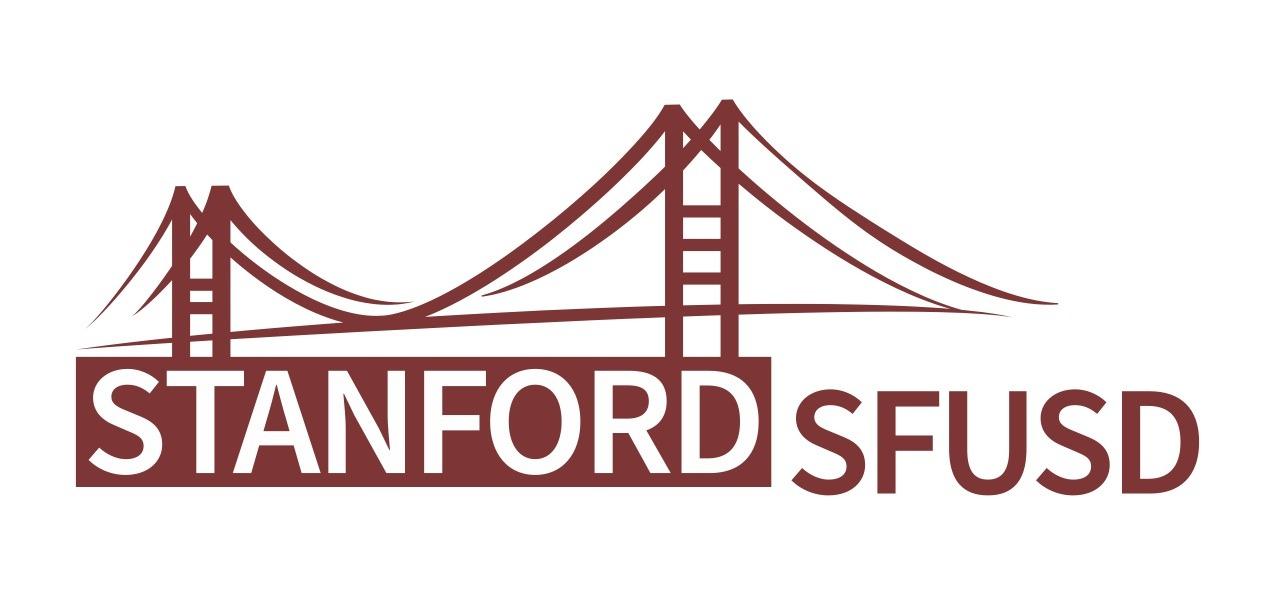 Logo for Stanford SFUSD partnership