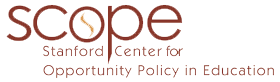 Stanford Center for Opportunity Policy in Education (SCOPE)