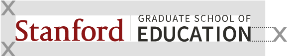 Stanford Graduate School of Education signature (horizontal full color with spacers)