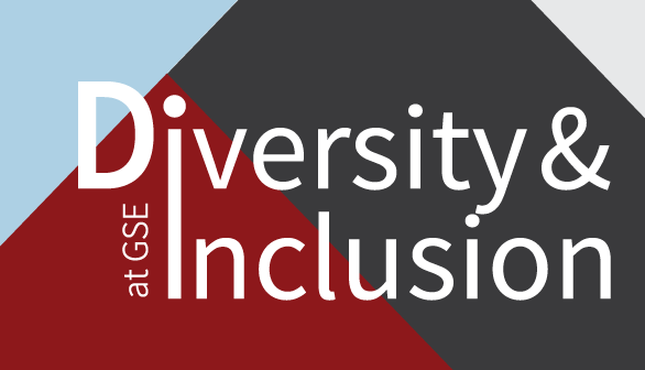Logo that says Diversity & Inclusion at GSE