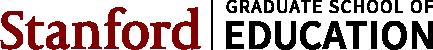 Stanford GSE horizontal logo
