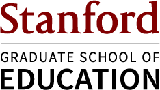 Stanford Graduate School of Education signature (vertical full color)