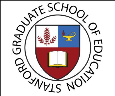 Stanford GSE Logo Shield