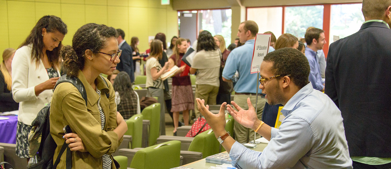 Stanford EdCareers employment fair, spring 2015