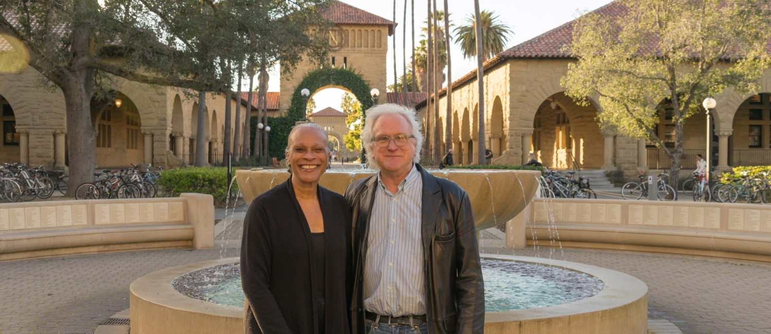 Photo of Arnetha Ball and David Labaree by Marc Franklin