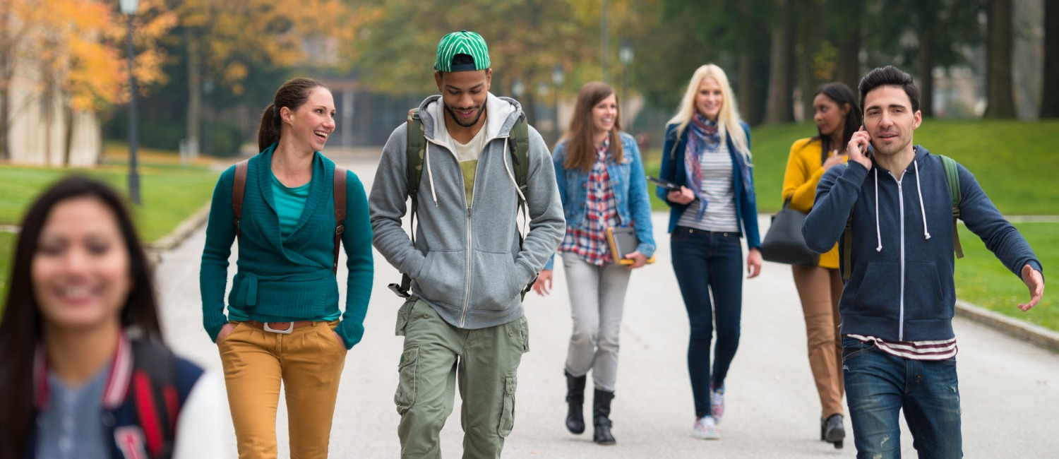 Picture of college students by Getty