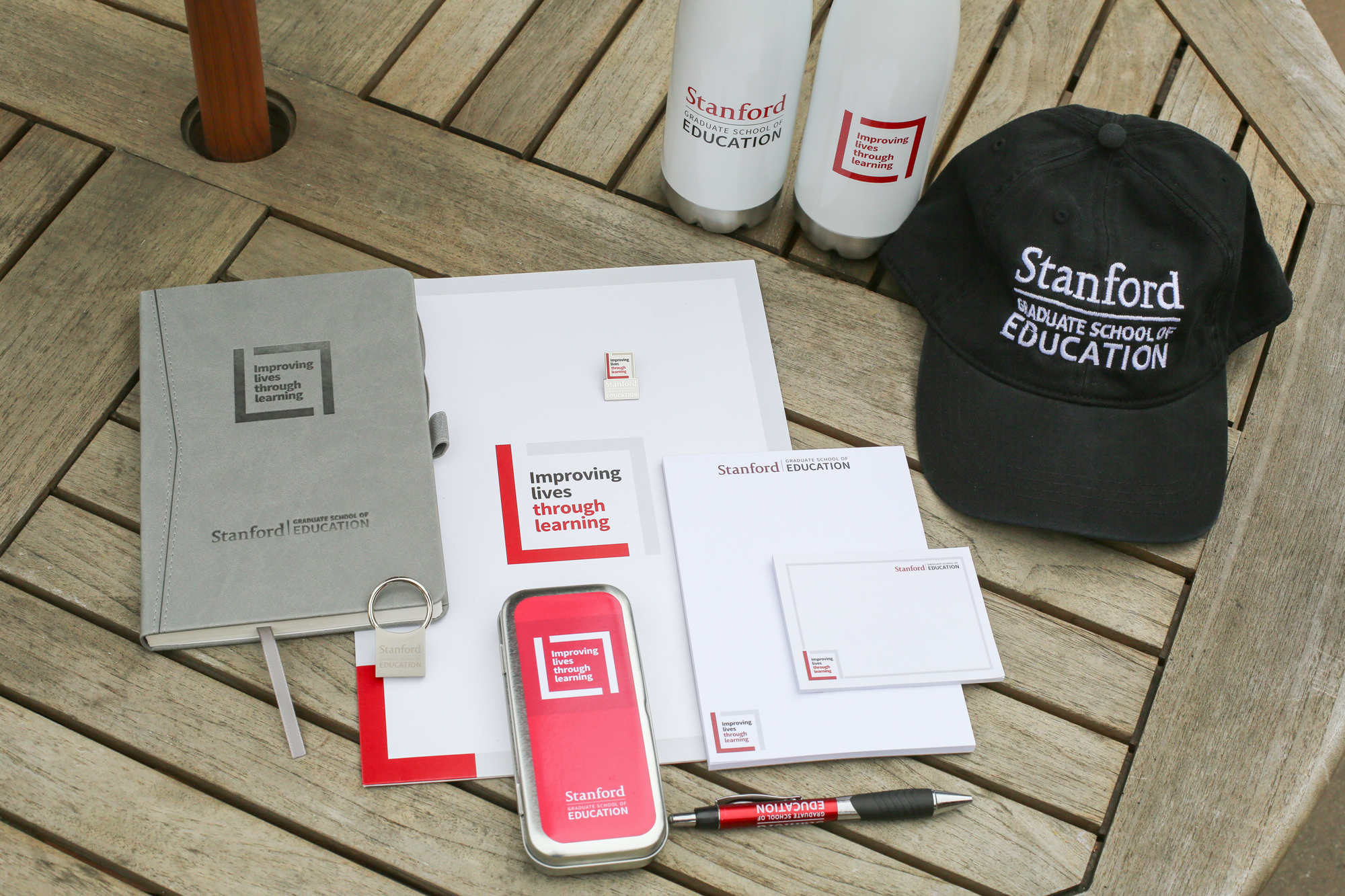 Photo of various GSE swag
