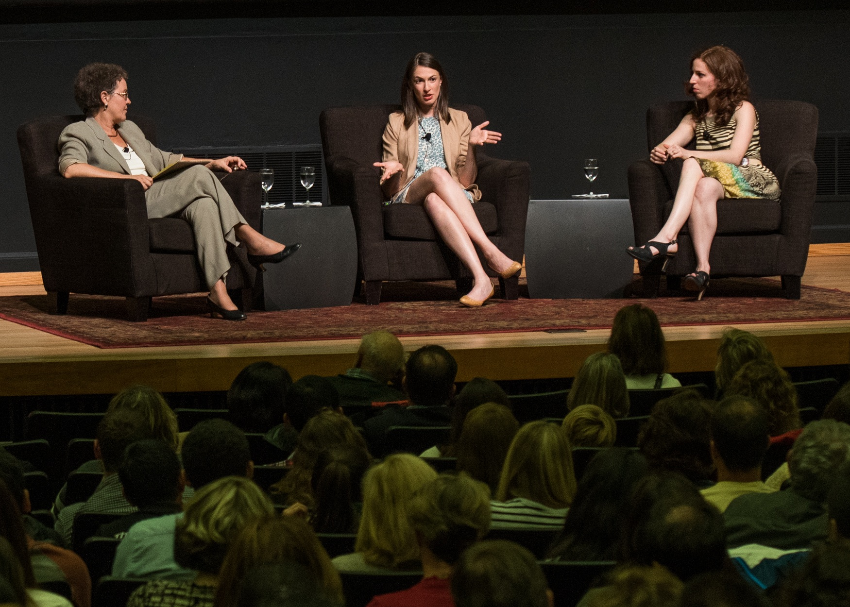 The 2015 Cubberley Lecture delved into the policies and politics surrounding the teaching profession. (Photo: Steve Castillo)