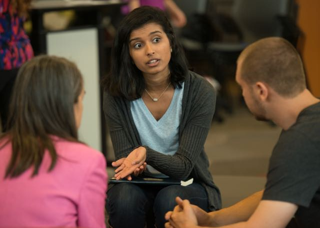 Sonia Doshi developed an app to help college students support friends experiencing mental distress. (Photo: Steve Castillo)