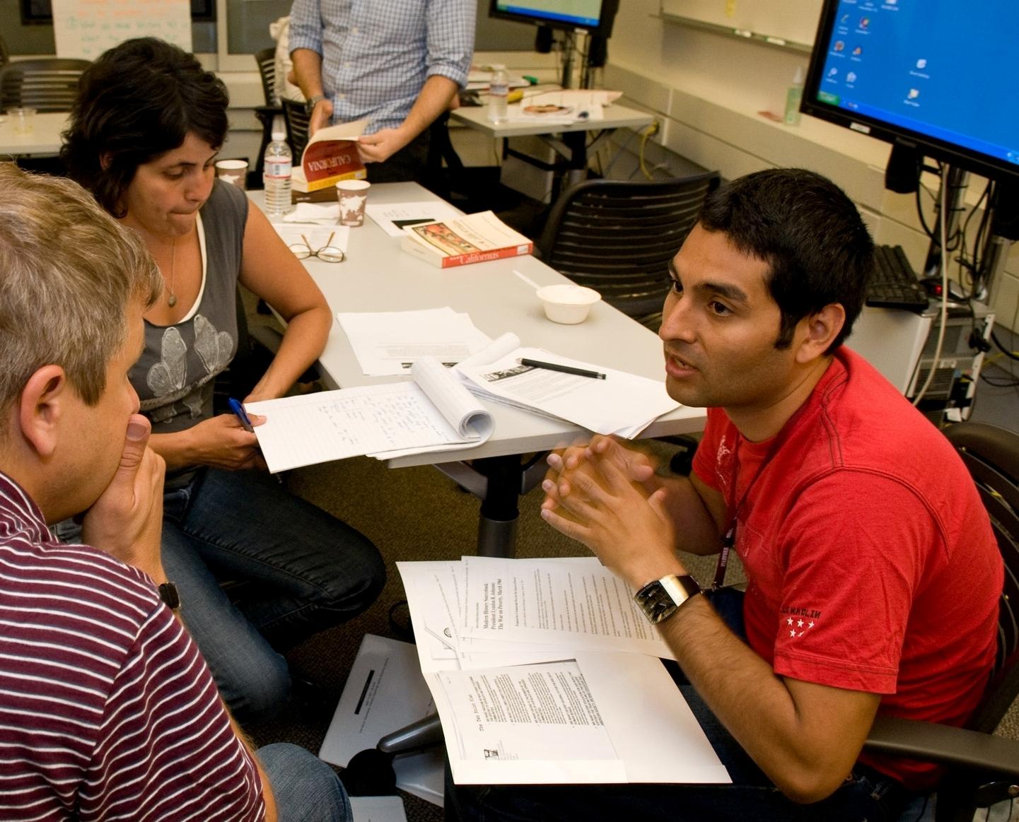 Raul Cuiriz at the CSET Teaching Studio