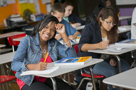 Students in a San Francisco classroom. Photo by Sonia Savio/SFUSD