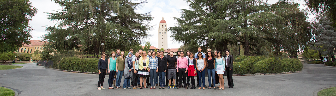 Photo of Stanford GSE doctoral students