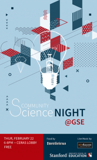 Community Science Night @ GSE! poster