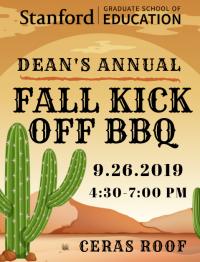 Fall Kick Off BBQ 2019 poster