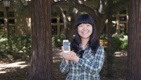 Mingming Jiang developed a social mobile application for her LDT project called