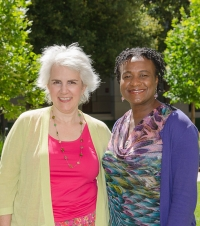 Amy Gerstein and Prudence Carter (Photo by Chris Wesselman)