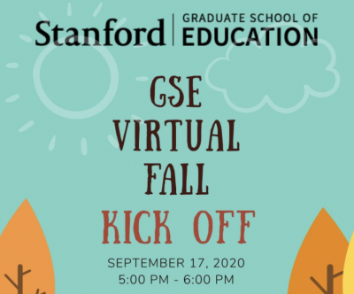 Picture of invitation to GSE Fall Kick-Off