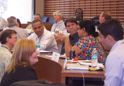 District leaders participate in discussions at an EPEL session. (Photo: Marc Franklin)