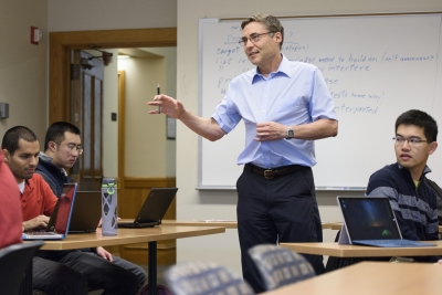 Professor Carl Wieman plans to use his grant to help students learn adaptability as they face novel situations.