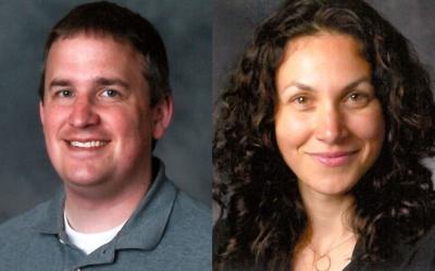 Eric Taylor and Ilana Umansky