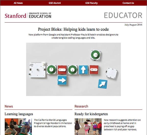 Screenshot of the Educator Vol. 3 Issue 4