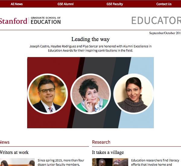 Screenshot of the Educator Vol. 3 Issue 5