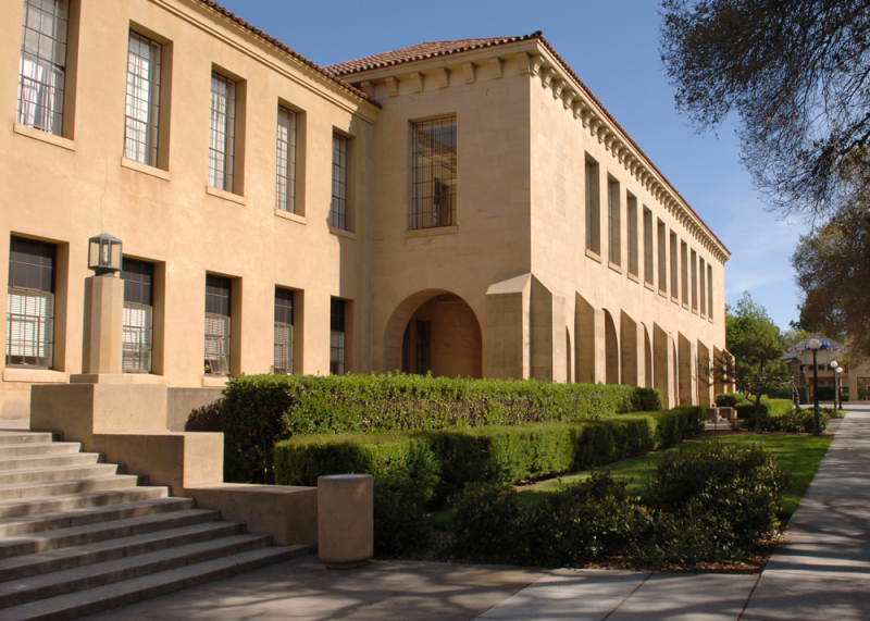 Photo of Education building in Stanford