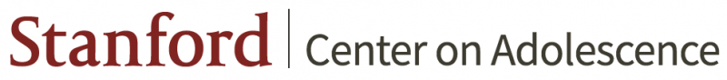 Stanford Center on Adolescence logo