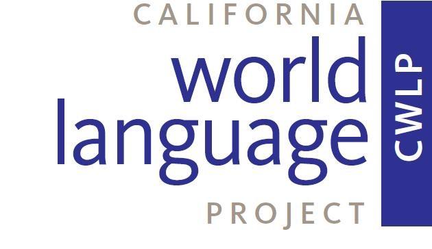 California World Language Project logo