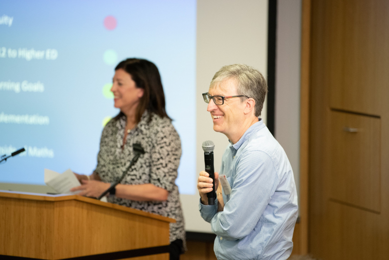 Jo Boaler and Steven Levitt, professor of economics at the University of Chicago, organized the daylong summit.