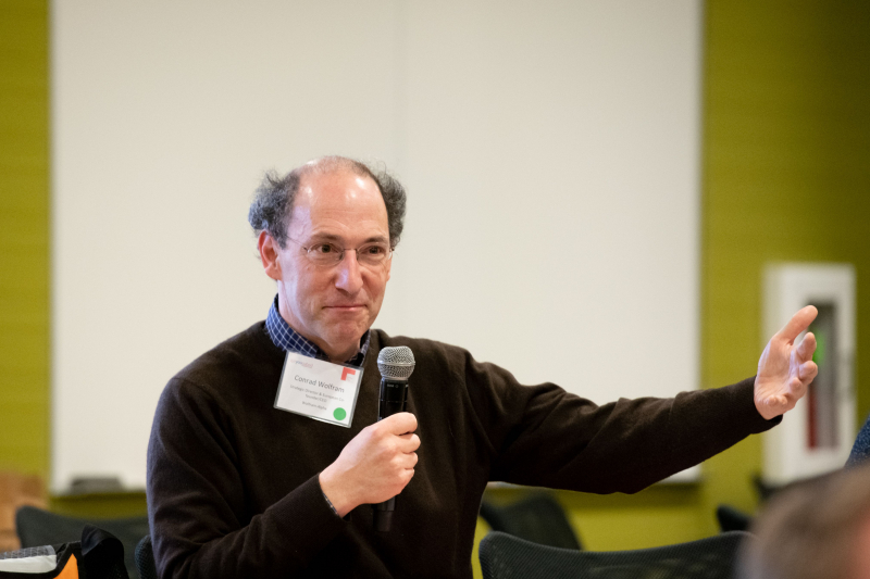 Mathematician and entrepreneur Conrad Wolfram co-founded computerbasedmath.org, which produces resources to teach computational thinking skills.
