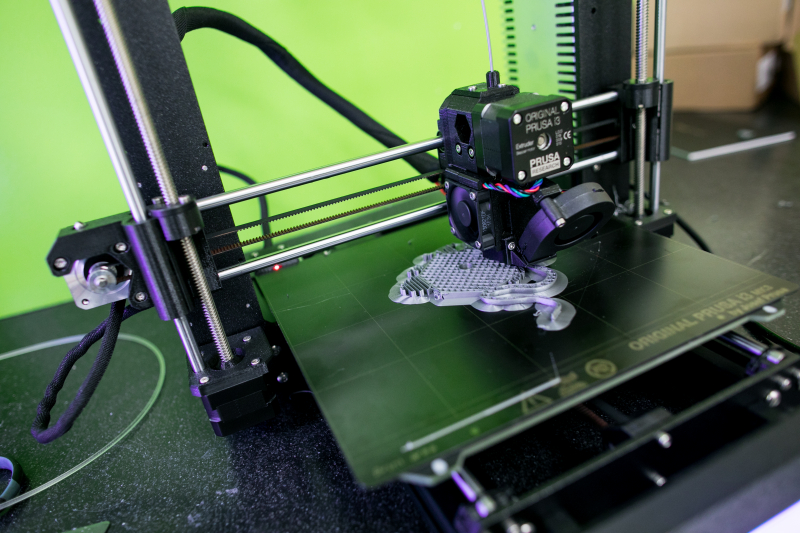 Another 3D printer in the studio