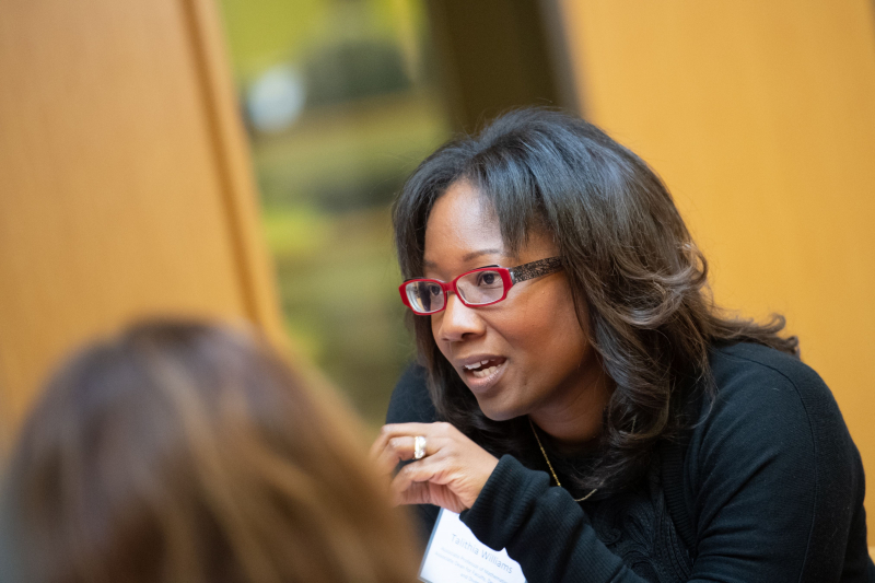 Telethia Williams, an associate professor of mathematics at Harvey Mudd College, argued in a 2014 TED Talk for the importance of equipping individuals with data about their own bodies.