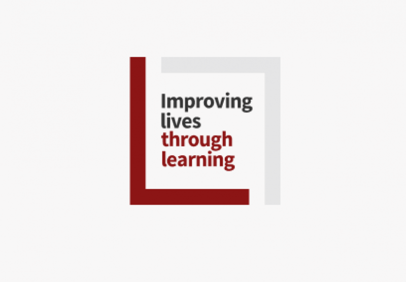 Logo that says improving lives through learning.