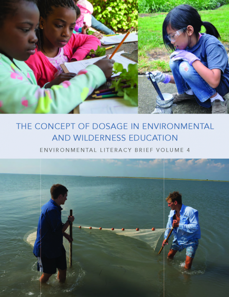 Cover of fourth environmental literacy brief