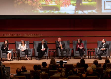 Panel at Cubberley Lecture