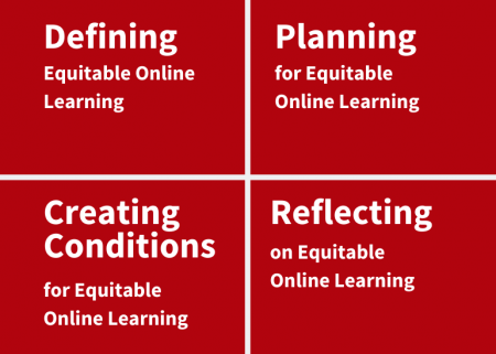 Equitable Online Learning: Defining, Planning, Creating Conditions, Reflecting