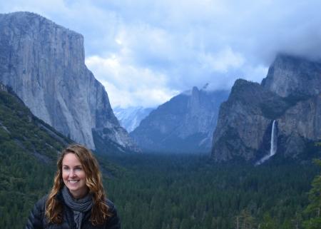 Nicole Ardoin in Yosemite National Park