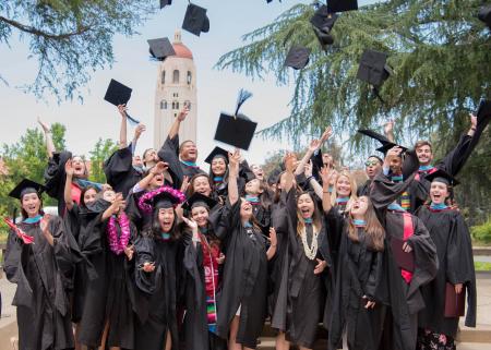 Photo of new GSE graduates