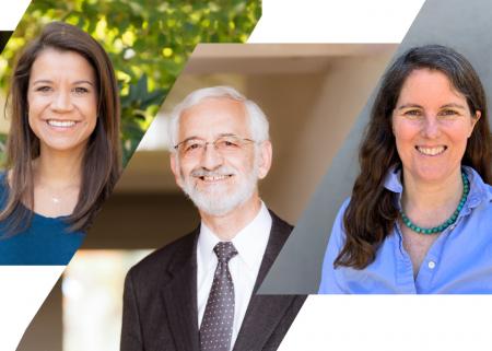 Photo of three award recipients