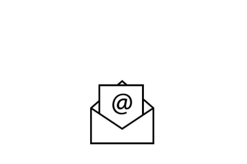 Icon of a letter