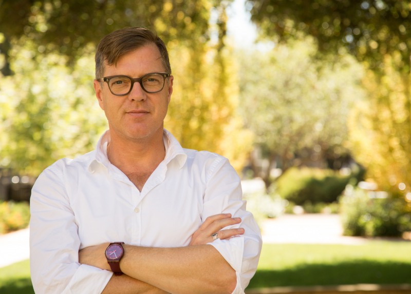 Mitchell Stevens, associate professor, wants to make sure student information is used and protected. (Photo: Stanford Online)