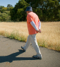 Many people claim they do their best thinking while walking. A new study finds that walking indeed boosts creative inspiration. (Photo: Linda A. Cicero / Stanford News Service)