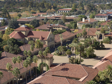 Photo of Stanford campus