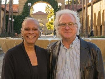 Arnetha Ball and David Labaree. (Photo: Marc Franklin)