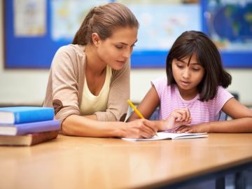In a personalized classroom, you're likely to see rich conversations and some kids working one-to-one with the teacher.