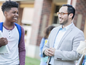 """Being a school principal is """"a 24/7 mix of very insistent demands and challenges,"""" says Gay Hoagland."""