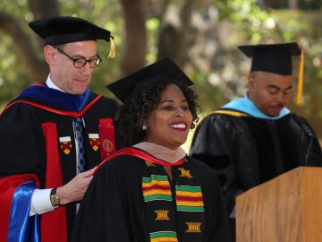 The Graduate School of Education celebrated 227 degrees in education. (Photo: Sofiia Kukhar)